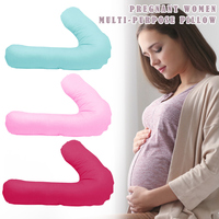 Comfortable Pillow Type V Pregnant Woman Waist Care Side Sleeping Nursing S7JN