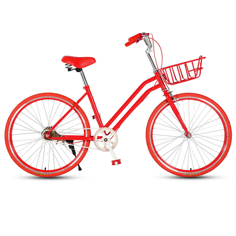 Road Bike 24 Inch Lady City Commute Adult Student Bicycle Retro Travel Light Student Bicycle New Hot Sale