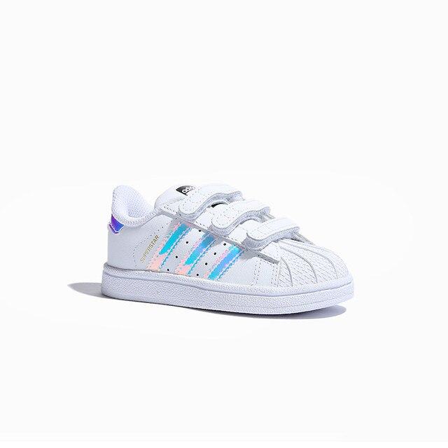 Adidas Superstar Kids oryginalne dziecięce buty na deskorolkę antypoślizgowe sportowe trampki # AQ6280 1