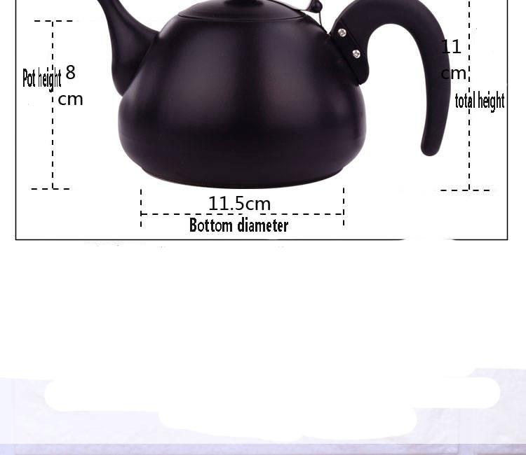 chá pequena panela de café chá em casa cerimônia
