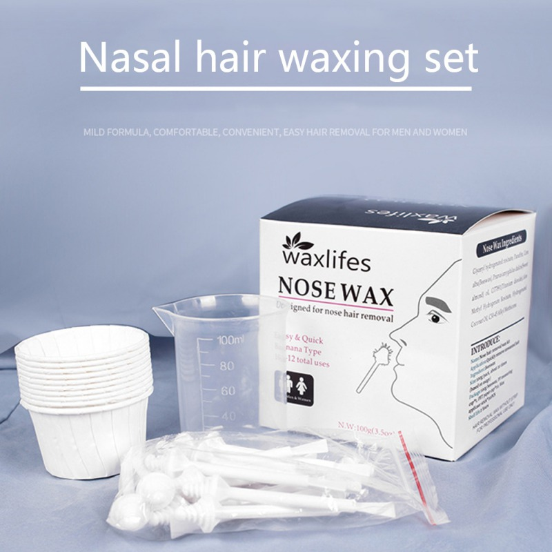 Nose Wax Mild And Non-irritating Portable Nose Hair Removal Wax Kit Hair Removal