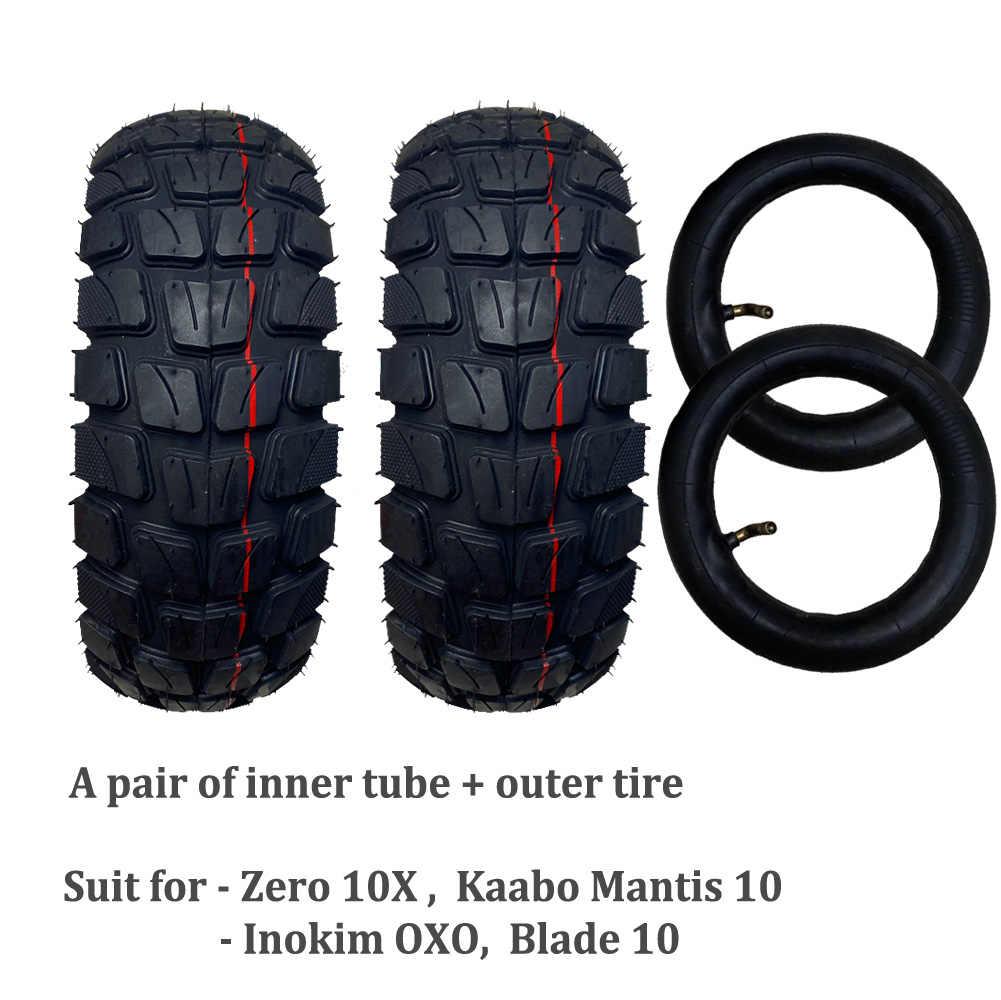 10*3 дюймовые внедорожные пневматические шины для Zero 10X Kaabo Mantis 10 Blade 10 Inokim OXO Электрический скутер