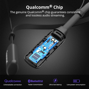 Image 2 - [Чип Qualcomm] обновленные беспроводные наушники Tronsmart S2 Plus Bluetooth 5,0, голосовое управление, глубокие басы, cVc 6,0, 24 часа воспроизведения
