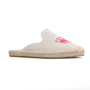Image 5 - Tienda Soludos Espadrilles Slippers For Flat Shoes 2019 Promotion New Arrival Hemp Summer Rubber Mules Slides Zapatos De Mujer