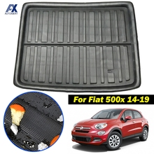 For Fiat 500X 2014 2015 2016 2017 2018 2019 Tailored Boot Liner Rear Trunk Mat Cargo Floor Tray Carpet Luggage Tray