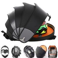 Motorcycle Tail Bag Waterproof Motocross Motorcycle Backpack Helmet Bags Riding Bag Shoulder Storage Tail Bag Motor Accessories
