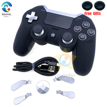 2020 New For PS4 Gamepad Dual Vibration Elite Wireless Controller Joystick for Play Station4 PC Video Games Console Dropshipping