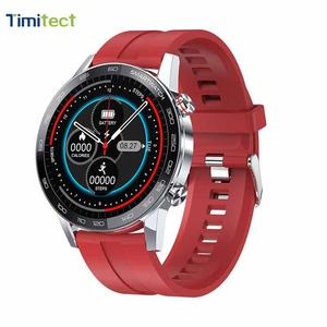 Pulsera inteligente L16, IP68, monitoreo a prueba de agua, pulso, presión arterial, reloj deportivo, reloj impermeable de presión arterial