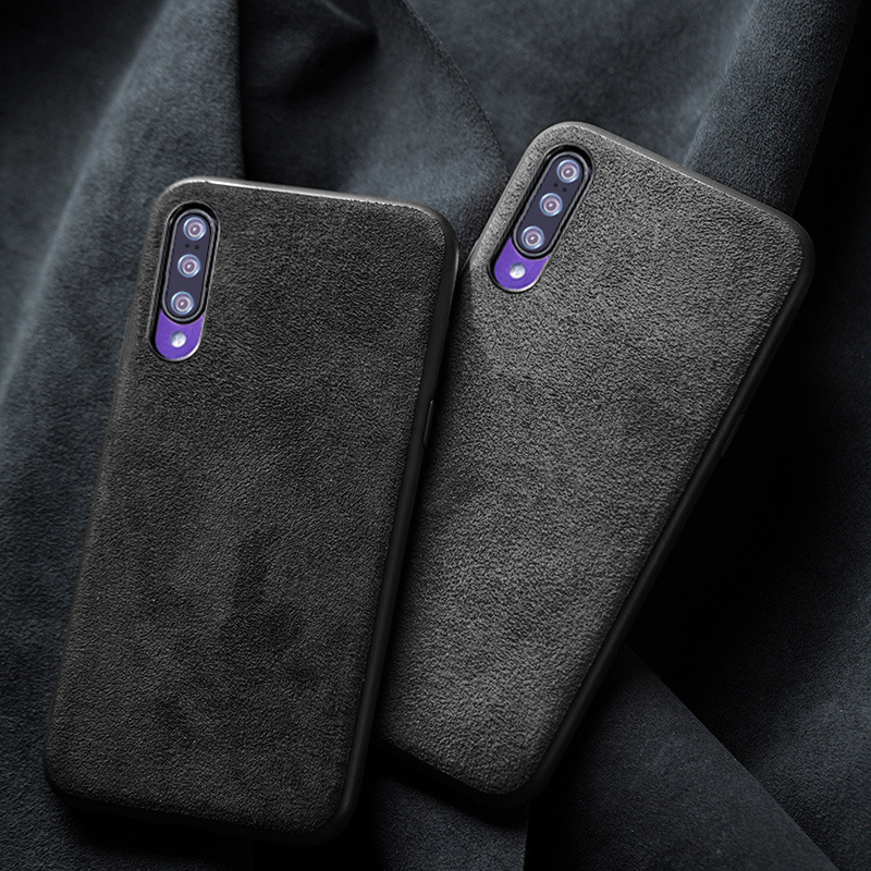 Phone Case For Xiaomi Mi 9 SE 9T 8 A1 A2 A3 Lite Mix 2S 3 Max 3 Suede leather Soft Cover For Redmi Note 7 5 6 8 Pro 6A 7A Fitted Cases     - title=