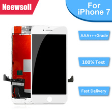цена на AAA+ LCD Display For iPhone 7 Touch Screen Digitizer Assembly For iPhone 7 No Dead Pixel