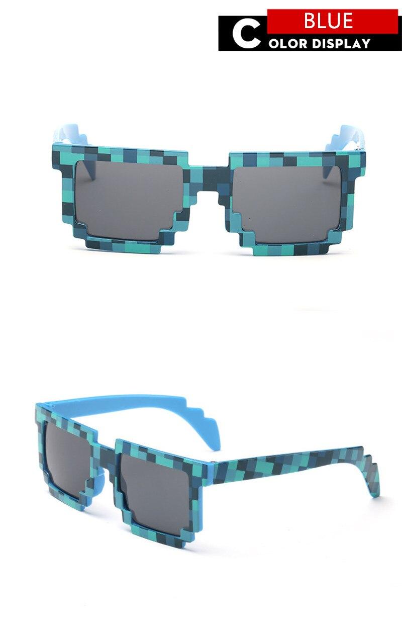 Kids Sunglasses Mosaics 4 13 Years Square Children Sun Glasses Boys Girls Eyewares Christmas Birthday Gift in Sunglasses from Mother Kids