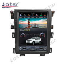 AOTSR Tesla Android 9 PX6 รถวิทยุสำหรับ Ford EDGE 2007 - 2014 รถนำทาง GPS DSP CarPlay 2 DIN central Multimeidia ผู้เล่น(China)