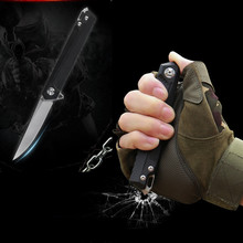 New C-JK3311 Tactical Folding Knife D2 Blade G10 Handle Camping Hunting Knives High Quality Practical Outdoor Survival EDC Tool