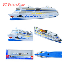 1/1400  Siku Aida Cruise Ship Alloy Metal Cruiseliner Miniature Replica Civilian/transport Model for Children Kids Boat Gifts