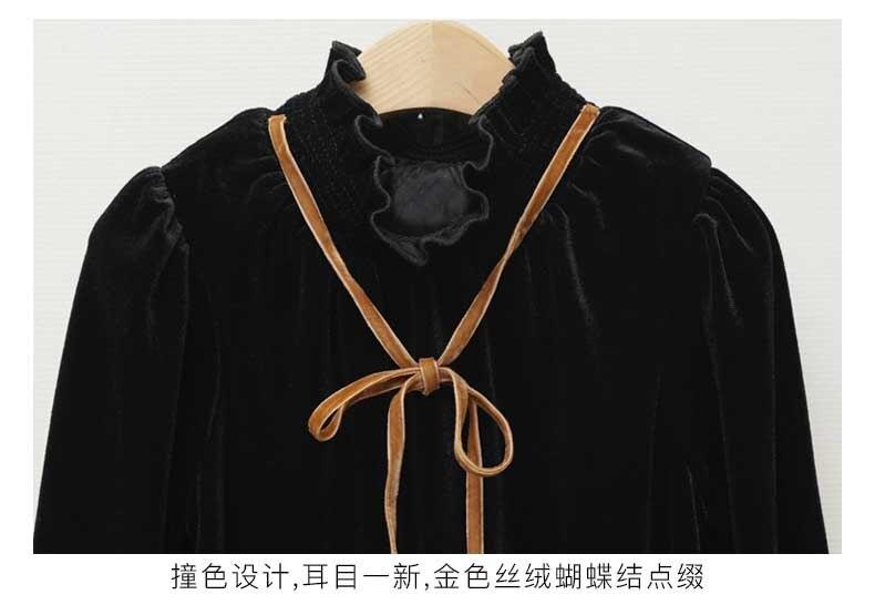 Teenage Kids Girls Winter Dress Fleece 2019 New Baby Girl Autumn Dress Black Kids Casual Dress Girl Children Top Toddler Dresses (1)