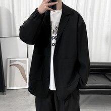 Men's Classic Japanese Style Casual Suit 2021 New Autumn Fashion Loose Trendy Jacket Men's Brand Coat