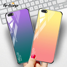 Tempered Glass Case For OPPO A83 A3 A5 F3 F5 Find X R15 Mirror Cases Luxury Silicone Phone Cover for Vivo V9 Y79 X21i Funda