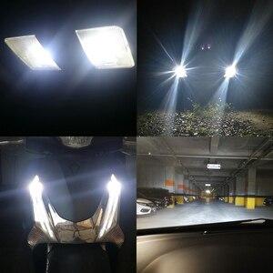 Image 5 - 2x 높은 전원 T10 W5W 15W 194 168 Cree 칩 XP E 백색 LED 전구 DRL 백업 쐐기지도 돔 외부 조명 소싱