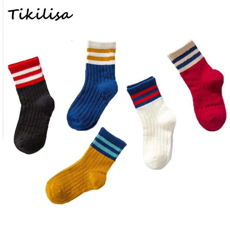 Cotton Toddler Baby Girl Boy Sock Cute Cartoon Lot Pairs Winter Wool Soft Sock H
