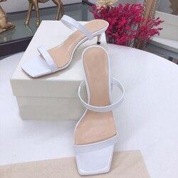 Женские замшевые туфли с металлическим носком на среднем каблуке, простые черные туфли с острым носком на тонком высоком каблуке, весна-осе...