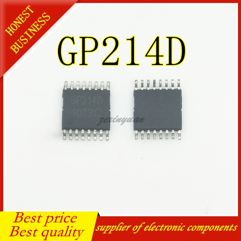 30PCS/LOT GP214D GP214 TSSOP-16  Chiporiginal
