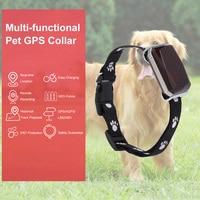 Collar localizador GPS para perros inteligentes, localizador con Cable USB, recargable, para perros y gatos