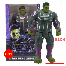 Disney Marvel Toys 30CM Marvel Avengers 3 Hulk Thanos Action Figure Toys Doll Movable Joint Figure Gifts Toys With Delicate box