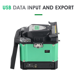 Image 2 - A 80S Green Automatic Fusion Splicer Machine Fiber Optic Fusion Splicer Fiber Optic Splicing Machine Optical Welding Machine