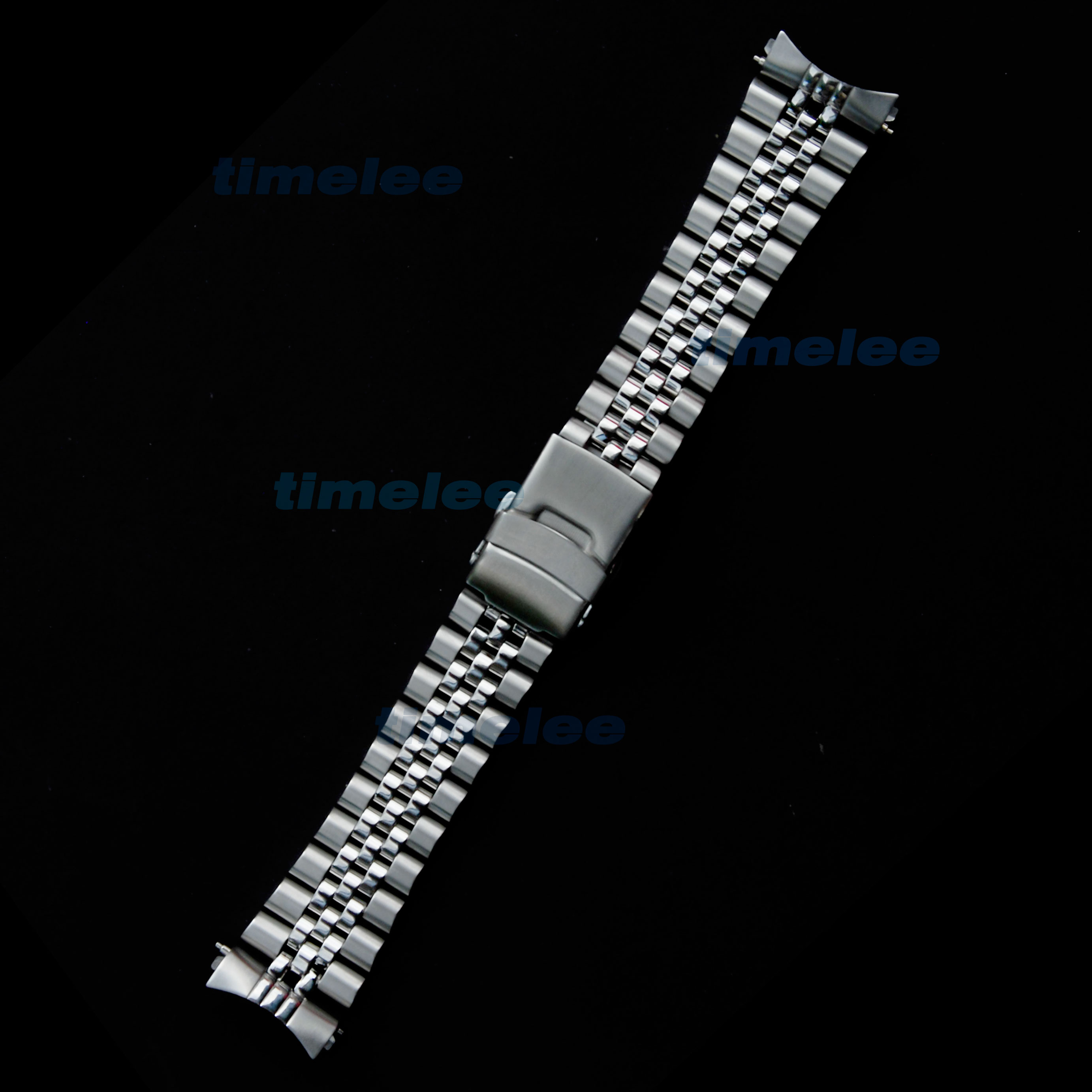 Image 5 - 22 mm Stainless Steel Watch Band Bracelets Curved end Replacement For Seiko SKX007 SKX009 SKX011 without LOGO-in Watchbands from Watches