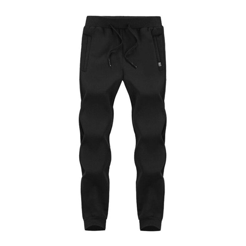 Зимние спортивные штаны для мужчин плюс бархатные теплые толстые теплые штаны из овчины мужские повседневные штаны 8XL 7XL 6XL 5XL