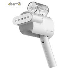 Yeni 2019 Deerma 220V portatif giysi buharlayıcısı ev taşınabilir buharlı ütü giysi fırçaları ev aletleri için