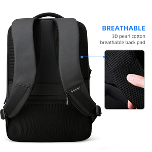 Image 3 - Mark Ryden 2020 Man Backpack Multifunctional Waterproof 15.6inch Laptop Multi layer Pockets Bag Man USB Charging School Backpack