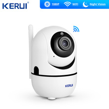 KERUI HD 1080P Mini Indoor Camera Wireless Home Security WiFi IP Camera Surveillance Camera Night Vision CCTV Camera