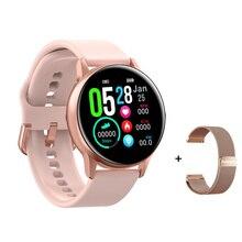 DT88 Smartwatch IP68 Waterdicht Vrouwen Mannen Fashions Smart Horloge Multi Sport Modus Fitness Armband Met Hartslag Druk Zuurstof