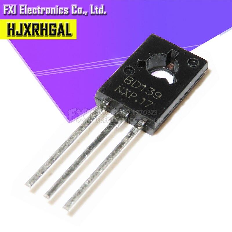 20PCS BD139 TO126 TO-126 Voltage Regulator IC Transistor New Original