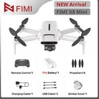 FIMI-Mini Dron profesional de radiocontrol con cámara 4K, Drone cuadricóptero de 250g-class, GPS, cámara de transmisión de 8km, X8