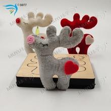 3D Christmas Reindeer Dieboard nowe drewniane wykrojniki do scrapbookingu