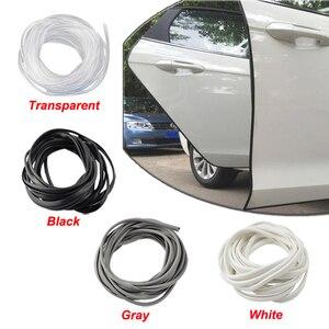 Image 1 - Auto Tür Protector Auto Rand Stoßstange Schutz Schutz Scratch Streifen Gummi Abdichtung Zierleiste Auto Styling Für Audi BMW Ford SUV