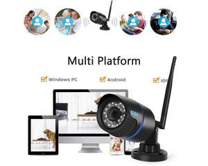 Image 5 - BESDER FHD 1080Pกล้องIP WiFi Securityกล้องกันน้ำ 20M Night Vision MOTION DETECT ONVIF 2.0 P2Pไร้สาย