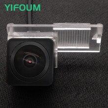 YIFOUM HD obiektyw typu rybie oko Starlight Night Vision widok z tyłu samochodu kamera cofania dla Peugeot 207 208 301 307 307CC 308 3008 407 408 508