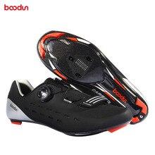 Обувь для велоспорта, для шоссейного велосипеда, самофиксирующаяся, дышащая, углеродное волокно, обувь для велоспорта, спортивная обувь ENA88