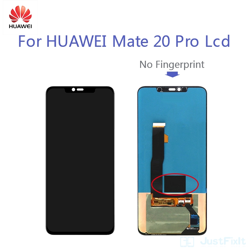 Original  Defect Super AMOLED For Huawei Mate 20 PRO LCD Mate20 Pro LCD Display Screen Touch Digitizer Assembly No Fingerprint