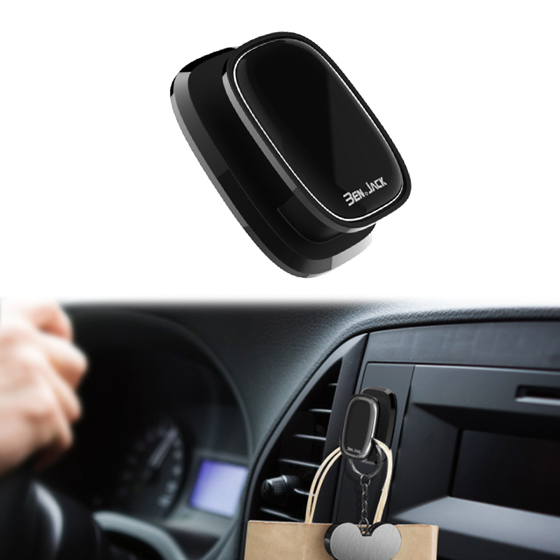 4pcs/set Car Universal Hooks Fashion New Mini Multifunction Super Strong Adhesive Durable Plastic Portable Interior Accessories