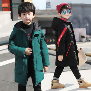 Image 5 - Winter Jacket Boys Overalls Childrens Warm Thick Jacket Coat Teenager 4 16yrs Parkas For Children Clothes Kids Outerwear&Coats