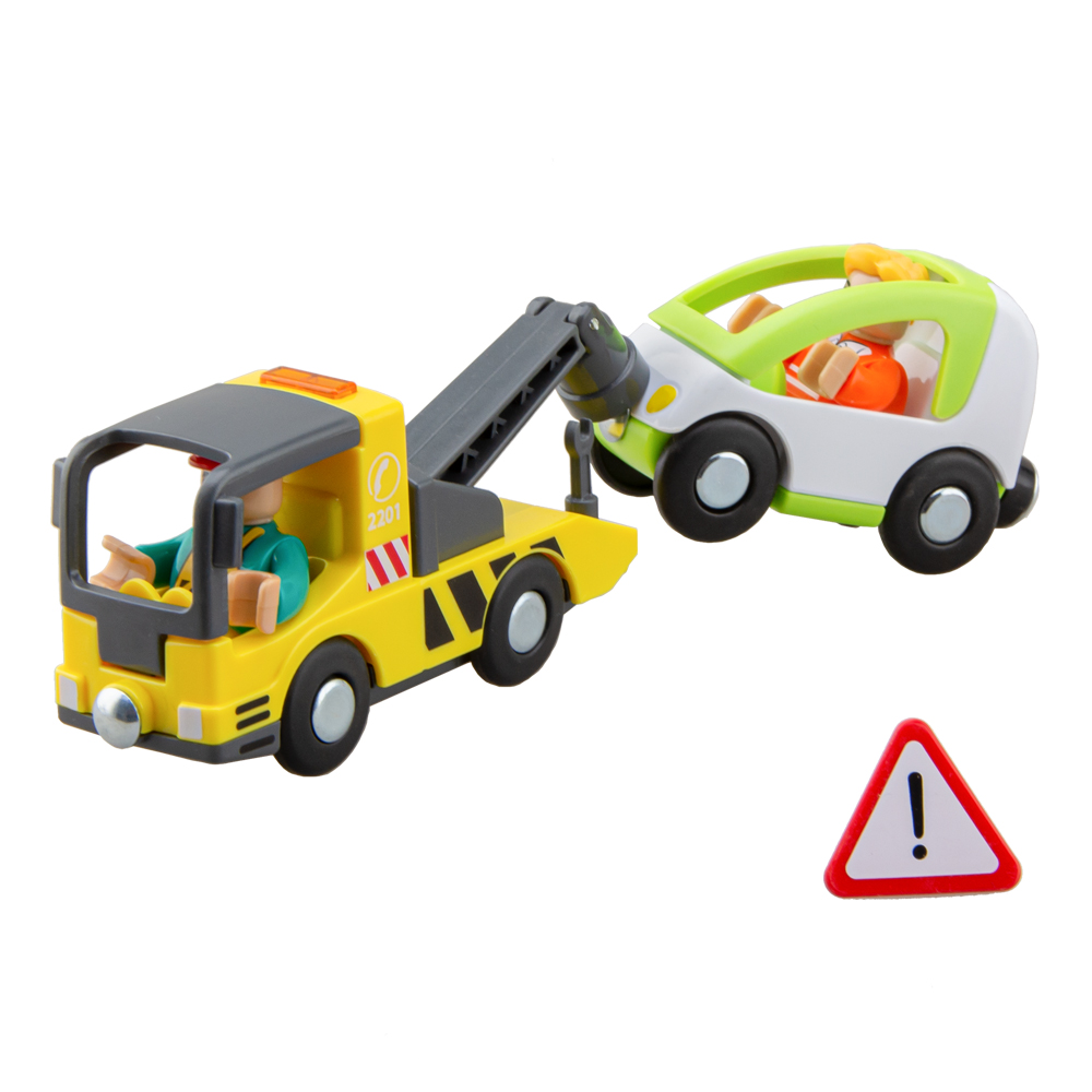 Wood Magnetic Trailer Toy Wooden Railway Accessories Train Toy Set For Kids Fit  For Wooden Tracks