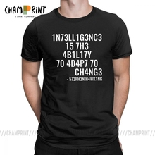 Men T Shirts Intelligence Funny Intelligence is The Ability