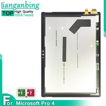New 100% LCD Display Touch Screen Digitizer Sensors Assembly Panel Replacement For Microsoft Surface Pro 4 1724 12.3 Inch Pro4