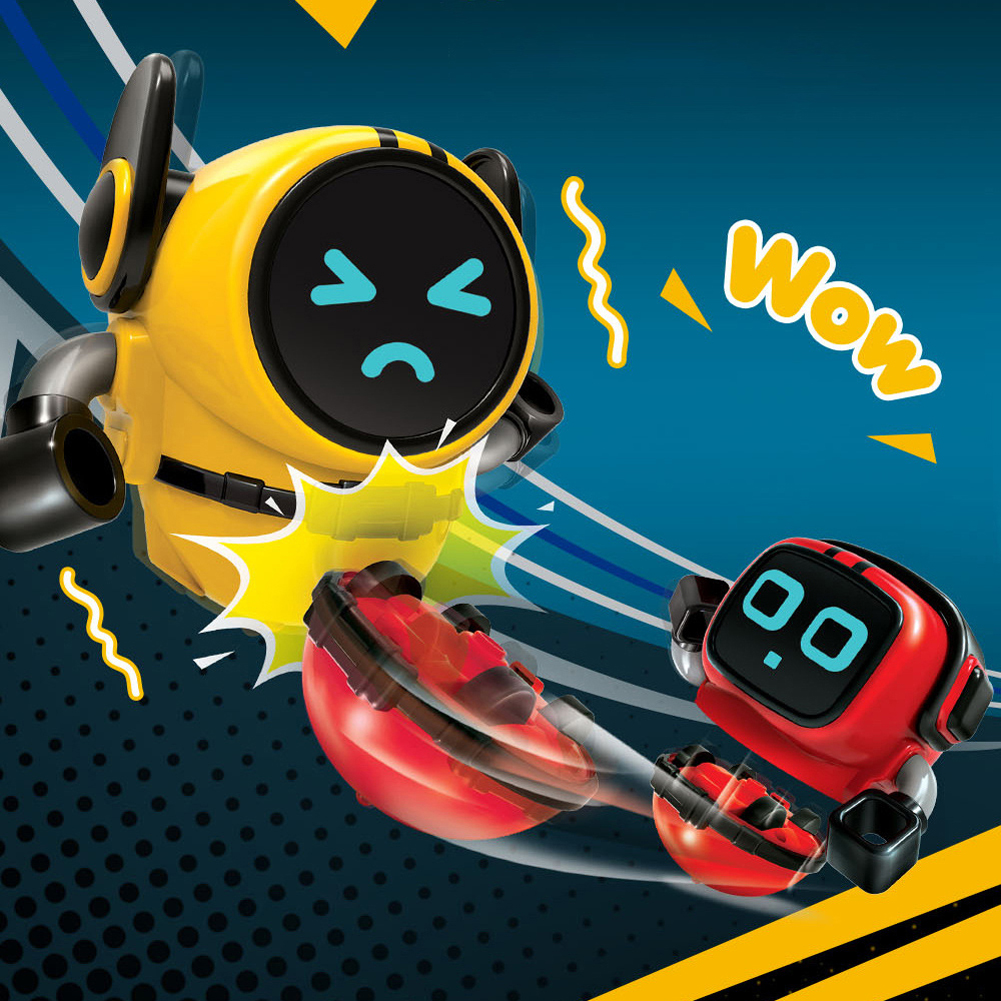 Detachable Robot Toys Removable Gyroscopes 3-Modes Wind-up Car Launching Mode Robots Gyro Pull Back Educational Toy For Kids