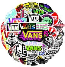 Vans – Autocollants d'animal et de chiots pour scrapbooking, 50, 52, 100 pièces pour ordinateur portable, guitare, skateboard,
