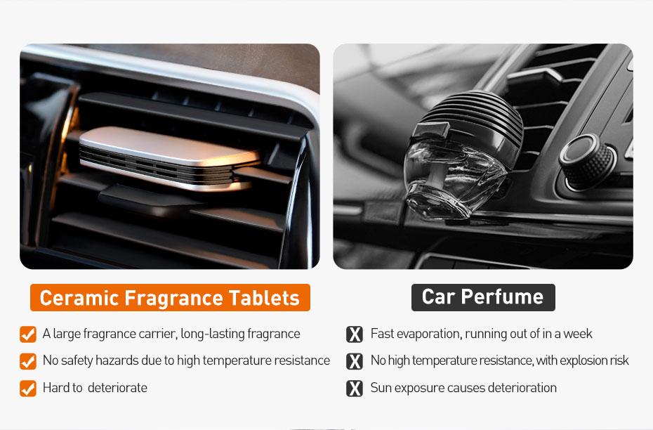 Baseus Metal Paddle Car Air Freshener 5